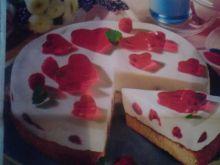 Walentynkowy torcik jogurtowy