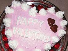 Walentynkowy tort serce