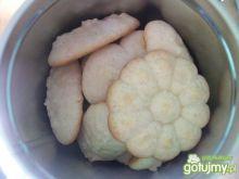 Waniliowe ciasteczka z maszynki