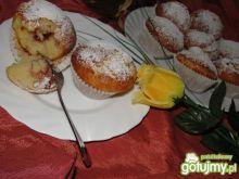 Waniliowe muffinki z konfiturą