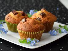 Waniliowe muffinki z wafelkami