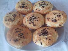 Waniliowe muffiny z posypką czekoladową