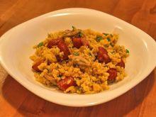 wariacje na temat ryżu z pieczarkami I