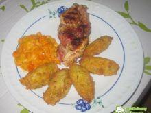 Warkocz z kurczaka i szynki parmeńskiej