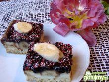 Warstwowe ciasto z bananami