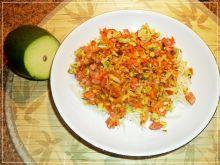 Warzywa i orzechy wprost z patelni