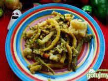 Warzywa na ciepło z sosem sojowym