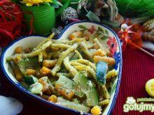 Warzywa na krótko z bułką tartą