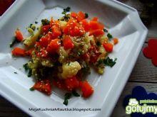 Warzywa na krótko z sezamem