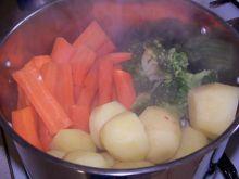 Warzywa na parze