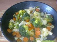 Warzywa na patelni.