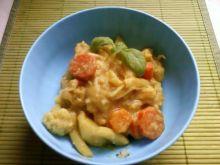 Warzywa w mleczku kokosowym z curry