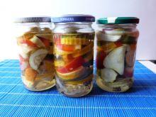 Warzywa w zalewie słodko-kwaśnej