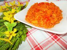 Warzywa z makaronem chińskim
