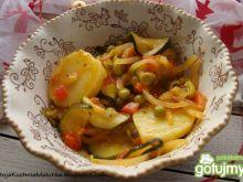 Warzywa z patelni z tymiankiem