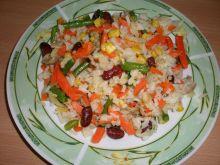 Warzywa z ryżem.