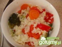 Warzywa z ryżem na kolację