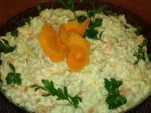Warzywna sałatka obiadowa