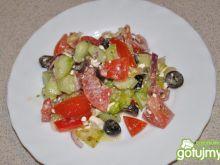 warzywna sałatka z fetą