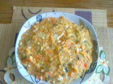 Warzywna sałatka z ziołowym majonezem