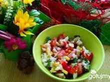 Warzywna z chrzanem