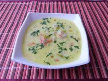 Warzywna zupa na skrzydełkach