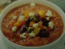 Warzywna zupa we włoskim stylu