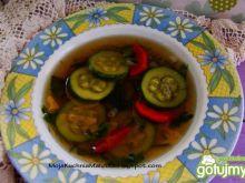 Warzywna zupka z cukinii i papryki