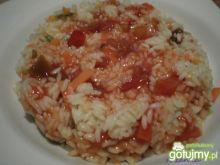 Warzywne risotto słodko-kwaśne