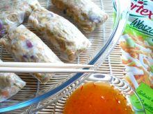 Warzywne sajgonki w papierze ryżowym