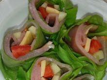 Warzywne spring rolls'y
