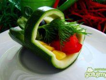 Warzywny koszyczek dla dzieci