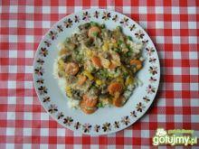 Warzywny mix z ryżem