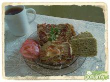 Warzywny omlet w obręczy