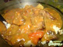 Wątroba w warzywnym sosie