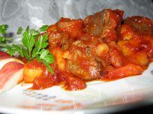 Wątróbka na pomidorowo