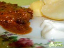 Wątróbka wieprzowa w sosie