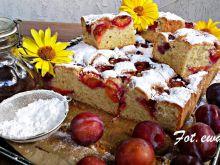 Ważone ciasto ze śliwkami