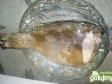 Wczorajsza pieczona rybka