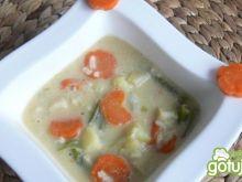 Wegańska zupa jarzynowa z ryżem