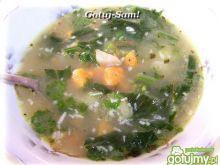 Wegańska zupa z rzepy i batatów