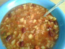 Wegański gulasz warzywny