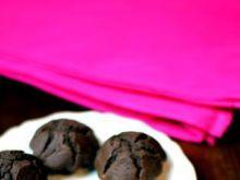 Wegańskie babeczki kakaowe