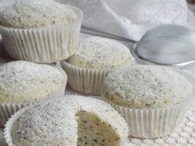Wegańskie muffinki cytrynowe z makiem