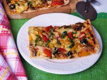 Wegetariańska pizza z mąki orkiszowej
