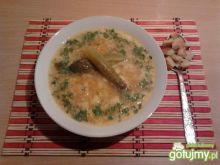 Wegetariańska zupa ogórkowa
