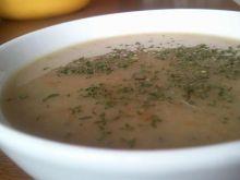 Wegetariańska zupa z ciecierzycy - light