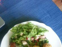 Wegetariańskie kulki obiadowe