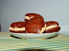 Whoopie pies z kremem marshmallows