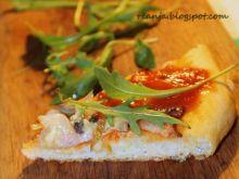 Wiejska pizza - zapiekanka
